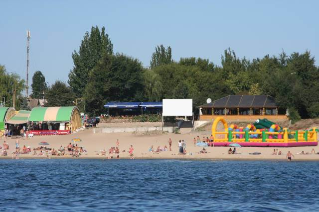 Базы отдыха в Грибовке возле моря